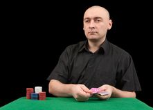 Croupier Stock Images