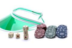 Croupier accesories Stock Image