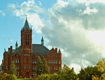 Crouse college of fine arts. On the syracuse university campus in syracuse,new york Stock Photo