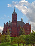 Crouse college of fine arts at syracuse university. Crouse college of fine arts in syracuse,new york Stock Photography