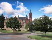 Crouseaandrijving op de Universiteit van Syracuse Royalty-vrije Stock Foto's