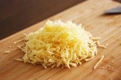 Croustillant vers le haut de fromage Photographie stock libre de droits