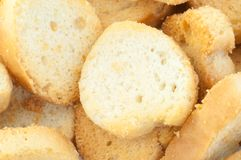 Croutons του ψωμιού Στοκ εικόνα με δικαίωμα ελεύθερης χρήσης