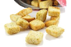 Croutons Royalty Free Stock Image