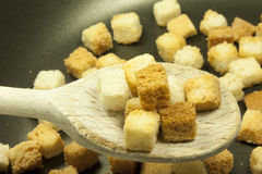 Croutons Obrazy Stock