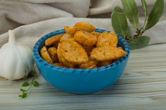Croutons Stock Photos