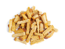 Croutons of bread Stock Image