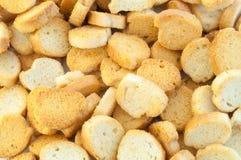 Croutons van brood Royalty-vrije Stock Foto's