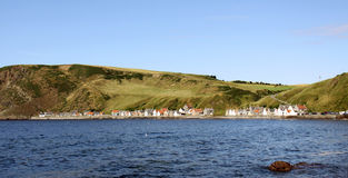 Crovie, a small fishing village in Scotland Stock Photography