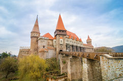Crovinilor Castle in Hunedoara region of Romania Royalty Free Stock Image