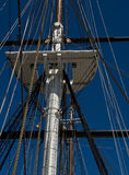 Crow`s nest,  USS Constellation Royalty Free Stock Photo