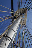 Crow`s Nest, USS Constellation Royalty Free Stock Image