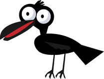 Crow - vector clipart Stock Photo
