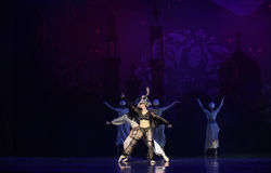 """Crow witch- ballet """"One Thousand and One Nights"""" Stock Photos"""