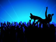 Crowd 04 royalty free stock photography