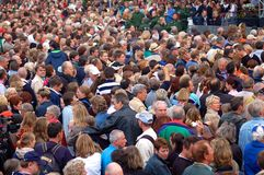 Crowd Royalty Free Stock Photography