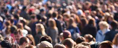 Crowd royalty free stock image