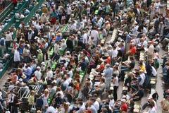 Crowd. At Masters Series Montecarlo,  april 2008 Royalty Free Stock Image