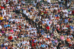 Crowd. At Masters Series Montecarlo,  april 2008 Stock Photos