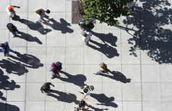 Crowd From Above Royalty Free Stock Photo