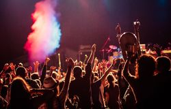 Free Crowd At Concert - Summer Music Festival Stock Photography - 89546182