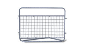 Crowd barrier Royalty Free Stock Photography