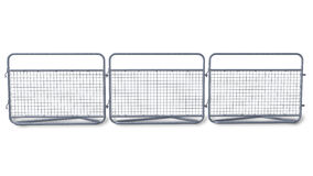 Crowd barrier Stock Images