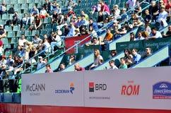 Crowd at BRD Tiriac Nastase Trophy 2013 Stock Image