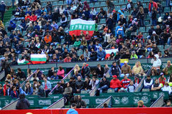 Crowd at BRD Tiriac Nastase Trophy 2014 Stock Photos