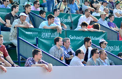 Crowd at BRD Tiriac Nastase Trophy 2013(7) Royalty Free Stock Photo
