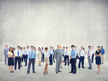 Crowd Business People Colleague Community Togetherness Concept Stock Images