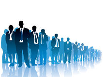Crowd of businesspeople Royalty Free Stock Images