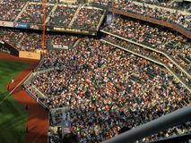 Crowd at Citi Field Baseball Game Royalty Free Stock Photography