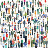 Crowd and community Stock Photography