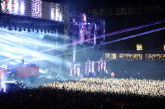 Crowd at concert Stock Photography