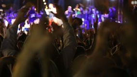 Crowd_concert_singer (blured的阶段) 影视素材