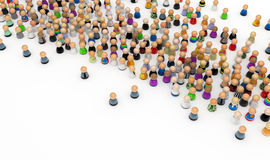 Crowd Control Royalty Free Stock Images