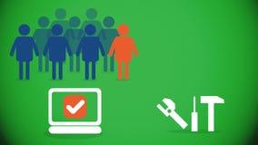 Crowd Customized Tools Stock Photos