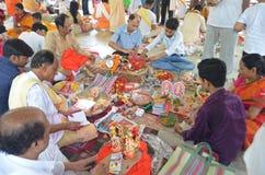 Celebrating the Bengali New Year royalty free stock photo