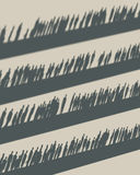 Crowd on a different levels. Crowd standing on a different levels Stock Images