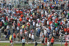 Crowd in F1. 2010 Istanbul Grand Prix, Istanbul Park royalty free stock photography