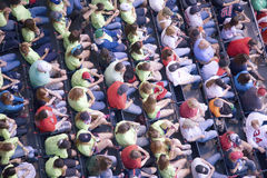Crowd at Fenway Park Royalty Free Stock Photography