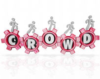 Crowd Fund Source Help Project Assistance Campaign Royalty Free Stock Photo