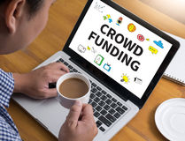CROWD FUNDING Royalty Free Stock Photo