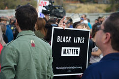 Crowd Gathered at Trump Protest. Crowd gathered at a protest in Salt Lake City, UT against Donald Trump on November 26, 2016 on the steps of the city`s capitol Royalty Free Stock Photo