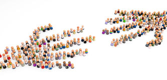 Crowd Hands Royalty Free Stock Image