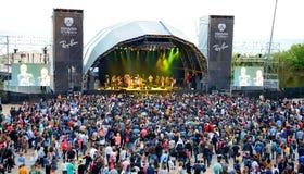 Crowd at Heineken Primavera Sound 2014 Festival (PS14) Stock Image