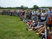Crowd at Henry Hill Royalty Free Stock Image