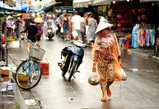 Crowd in Hoi An. South Vietnam Royalty Free Stock Image