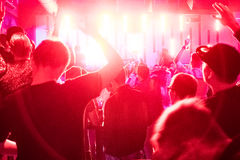 Free Crowd In The Club Royalty Free Stock Image - 85375696